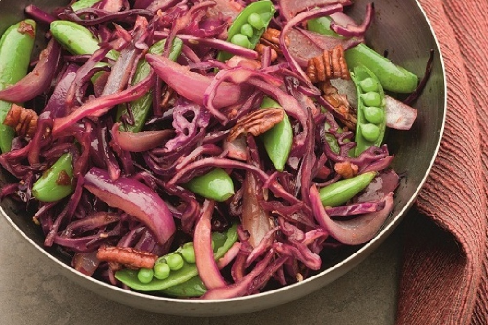 Healthy Recipes: Red Cabbage Stir Fry