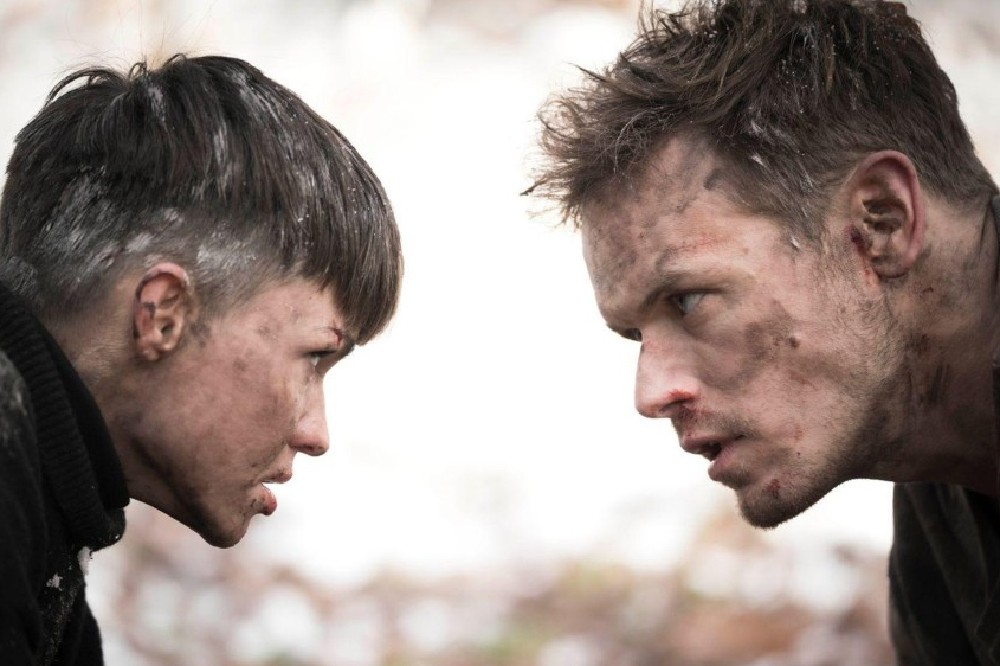 Ruby Rose and Sam Heughan face off in SAS: Red Notice / Picture Credit: Lionsgate UK