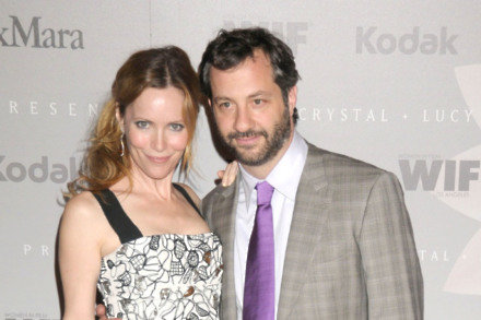 Leslie Mann and Judd Apatow (Credit:Famous)