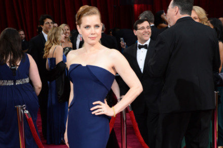 Amy Adams wowed in blue Gucci Première