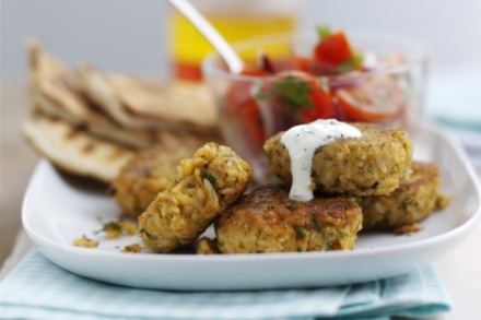 Summer Recipes: BBQ Falafel