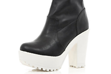 Cleated Sole Boots and Shoes from River Island: Shop today!