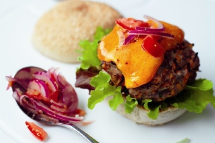 Red Leicester Burger Recipe