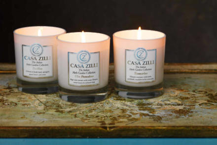 Casa Zille Trio of Candles set