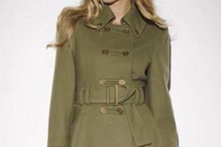 Fitted South military jacket