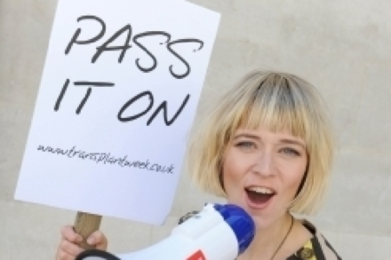 Edith Bowman wants us to pass it on