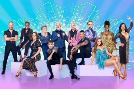 The cast of Strictly Come Dancing 2020