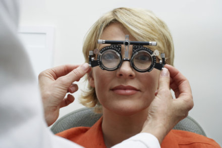 It's important that we all attend regular eye health tests