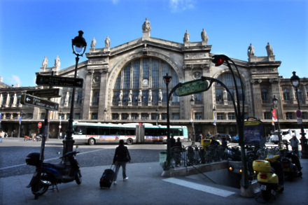 Gare du Nord. Photo: PA