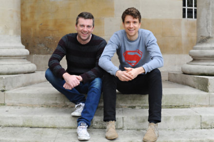 Chris Smith and Greg James by Jenny Smith