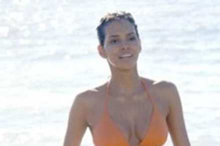 Halle Berry and the infamous Bond shot