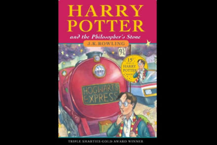 Harry Potter and the Philosopher's Stone by J.K. Rowling / Bloomsbury