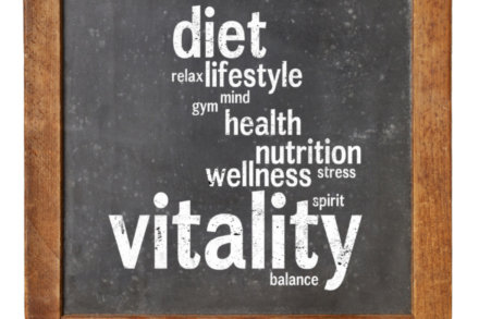 How to you approach healthy living?