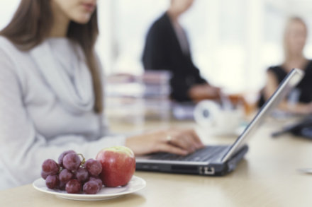 Are you choosing healthy snacks at work?