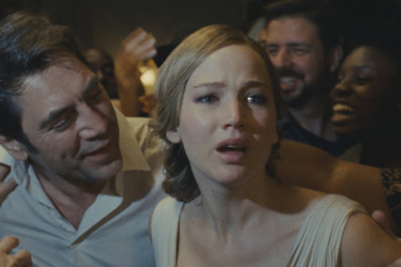 Javier Bardem and Jennifer Lawrence lead the film