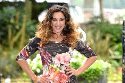 Kelly Brook at the launch of her Simply Be fashion collection