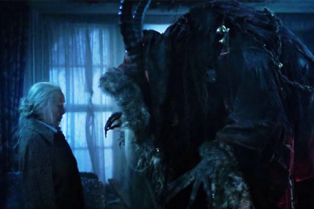 Krampus will find everyone / Picture Credit: Netflix