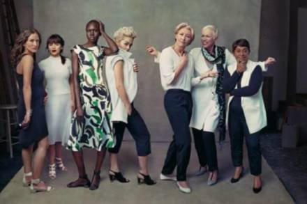 The leading ladies campaign from Marks and Spencer features a whole host of famous faces