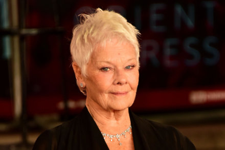 Judi Dench at The Murder on the Orient Express premiere / Photo Credit: Maurice Clements