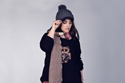 Nadia Aboulhosn models the boohooPLUS AW14 collection