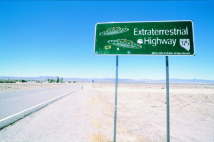 Road trip in the USA - the land of conspiracy theories.