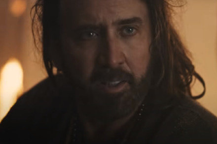 Nicolas Cage as Wylie / Picture Credit: Paramount Pictures
