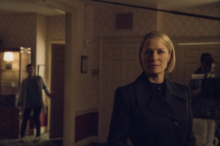 Robin Wright returns as President Claire Underwood / Credit: Netflix