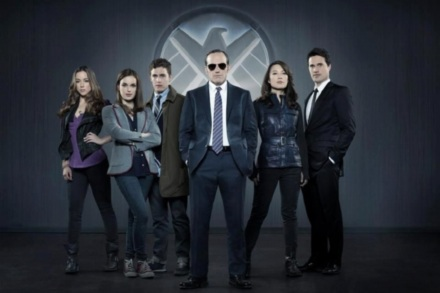 The cast of Agents Of S.H.I.E.L.D