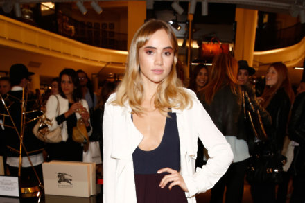Suki Waterhouse at Vogue's Fashion's Night Out
