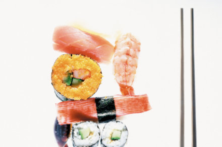Can eating sushi increase heart health risks?