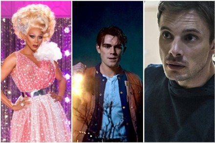 Drag Race and Riverdale return, as new series Damien begins...