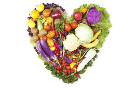 A healthy diet consists of a range of foods from different groups