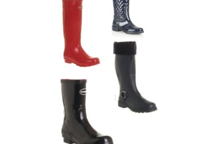 Will you be wearing bright, patterned or plain wellies?