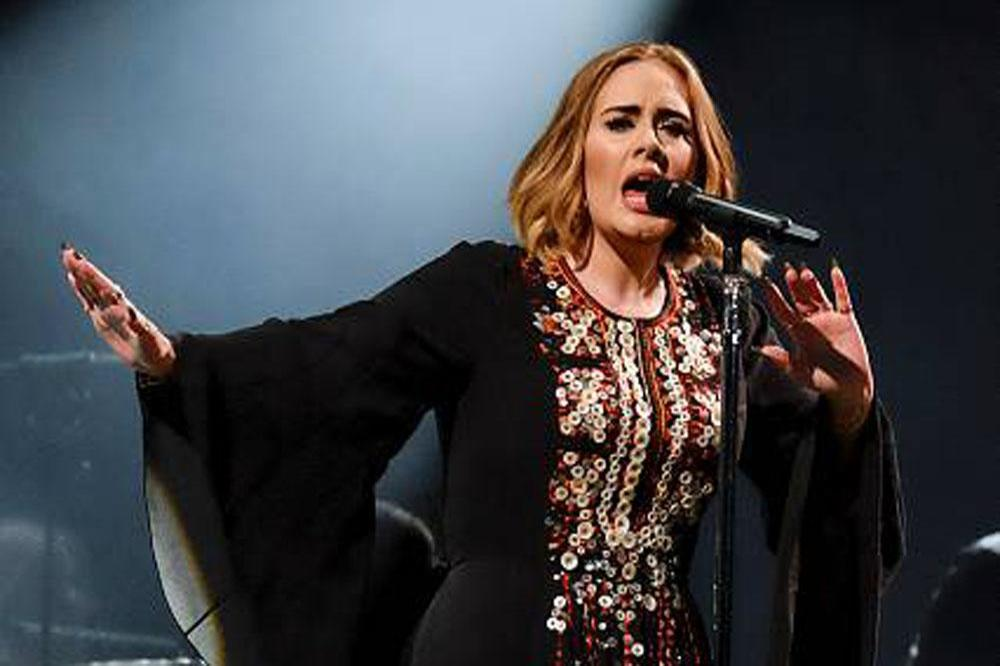 Adele headlining Glastonbury