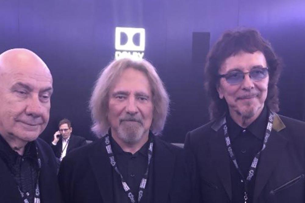 Bill Ward, Geezer Butler and Tony Iommi (c) Twitter