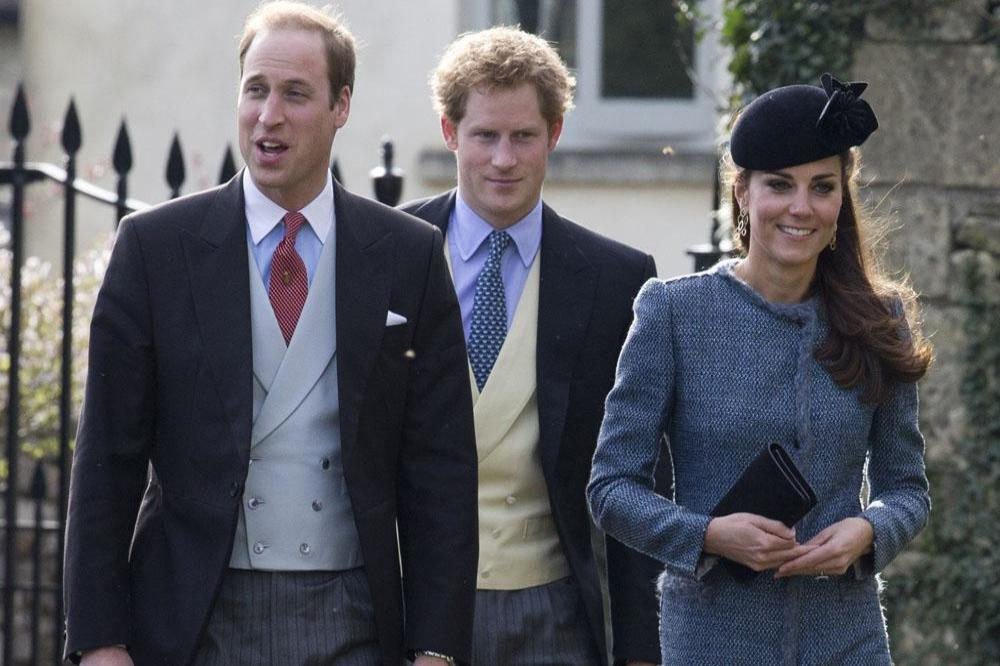 Prince William, Prince Harry and Duchess Catherine