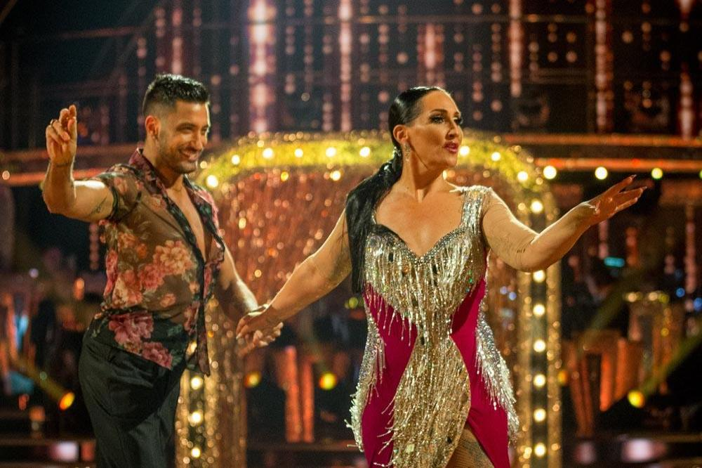 Michelle Visage and Giovanni Pernice