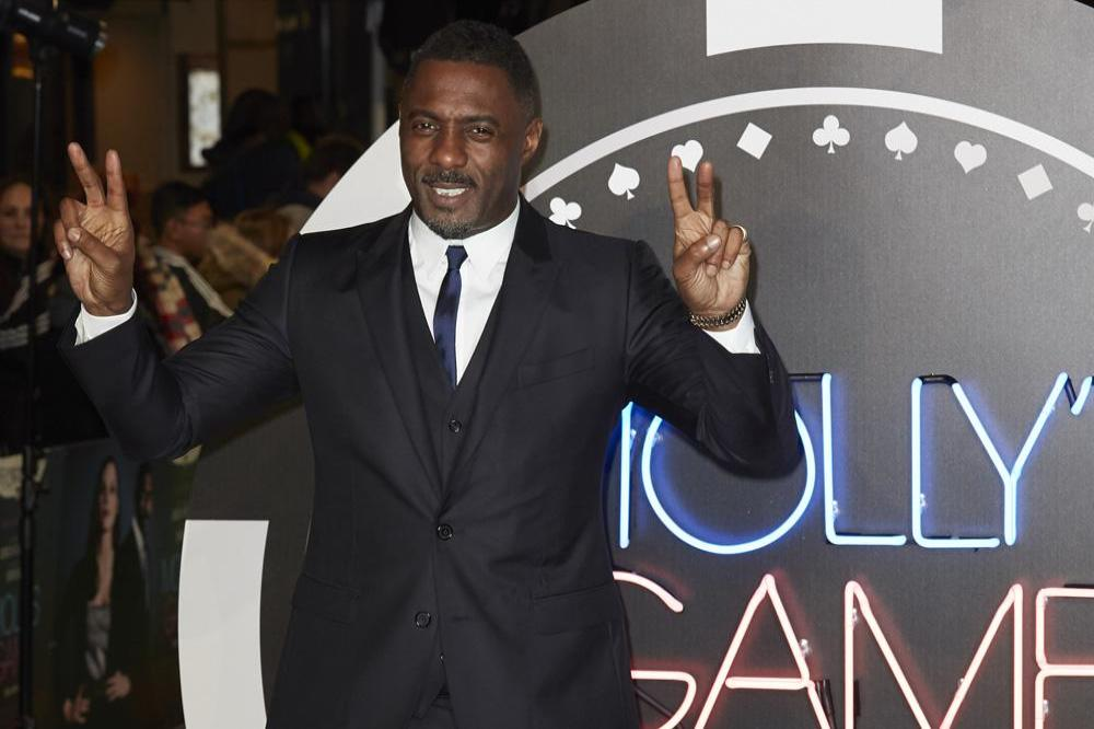 Idris Elba at Molly's Game premiere