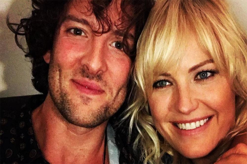 Jack Donnelly and Malin Akerman (c) Instagram