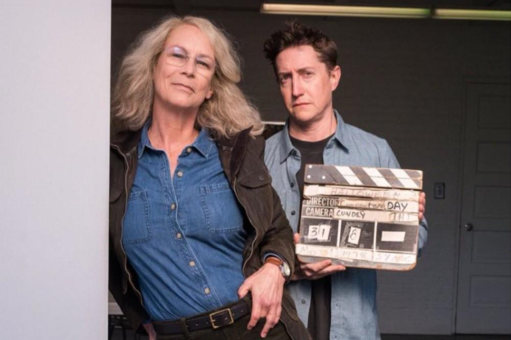 Jamie Lee Curtis and David Gordon Green via Twitter (c)