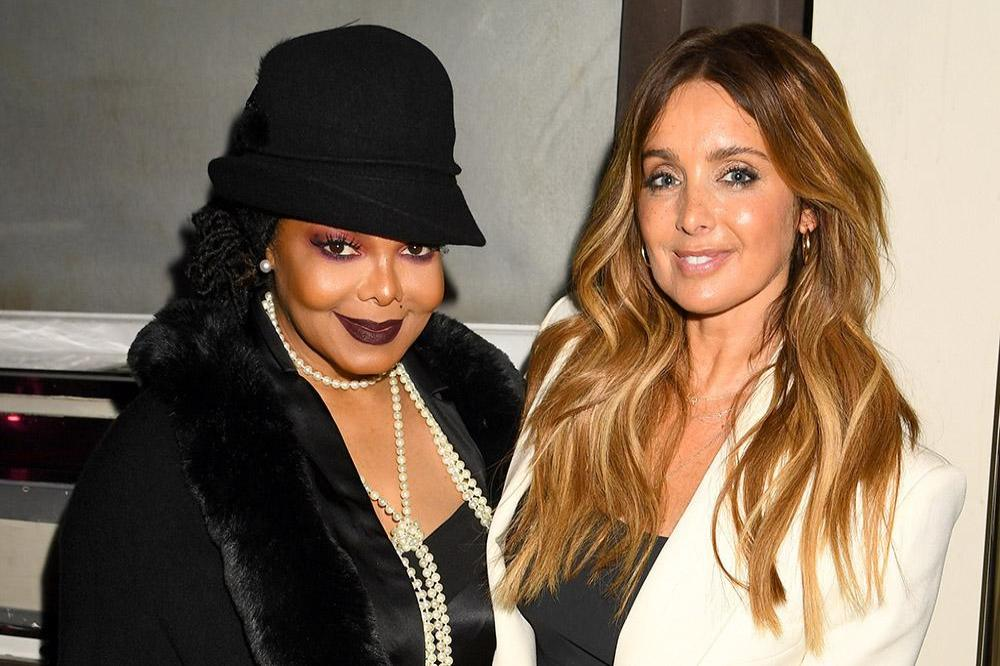 Janet Jackson and Louise Redknapp at The Gatsby Gala