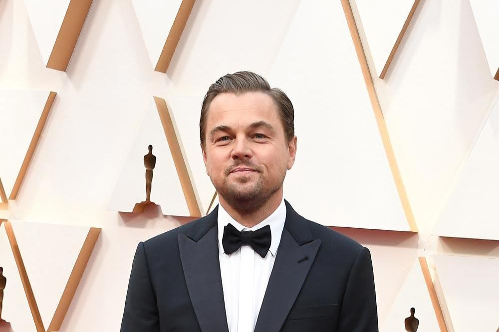 Leonardo DiCaprio at the 2020 Oscars