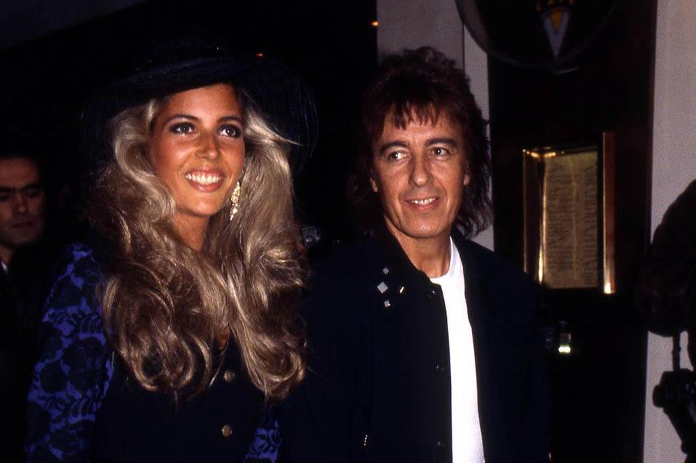 Mandy Smith and Bill Wyman