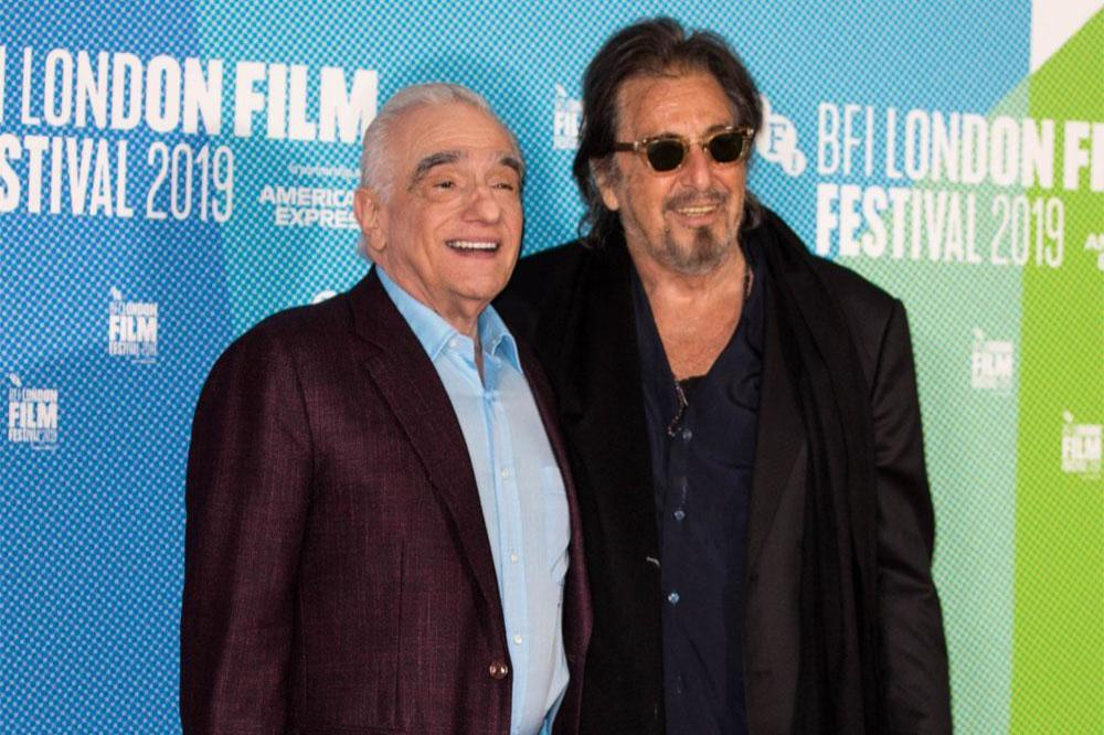 Martin Scorsese and Al Pacino