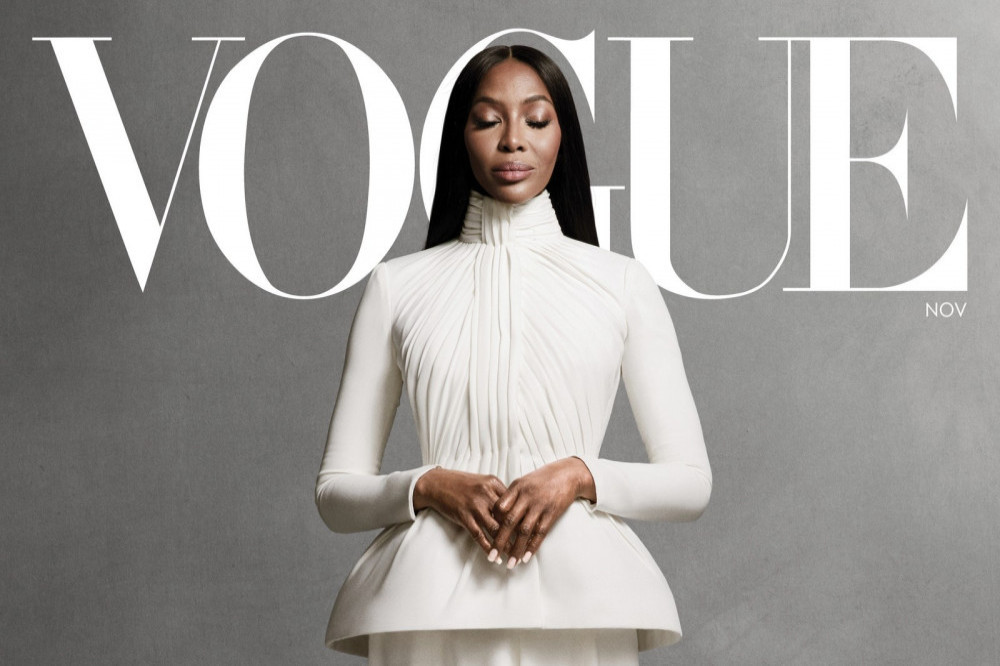 Naomi Campbell for Vogue magazine