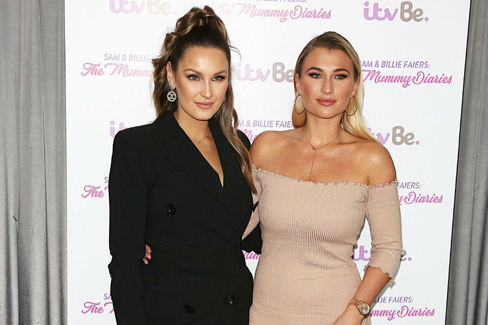 Sam Faiers and Billie Shepherd