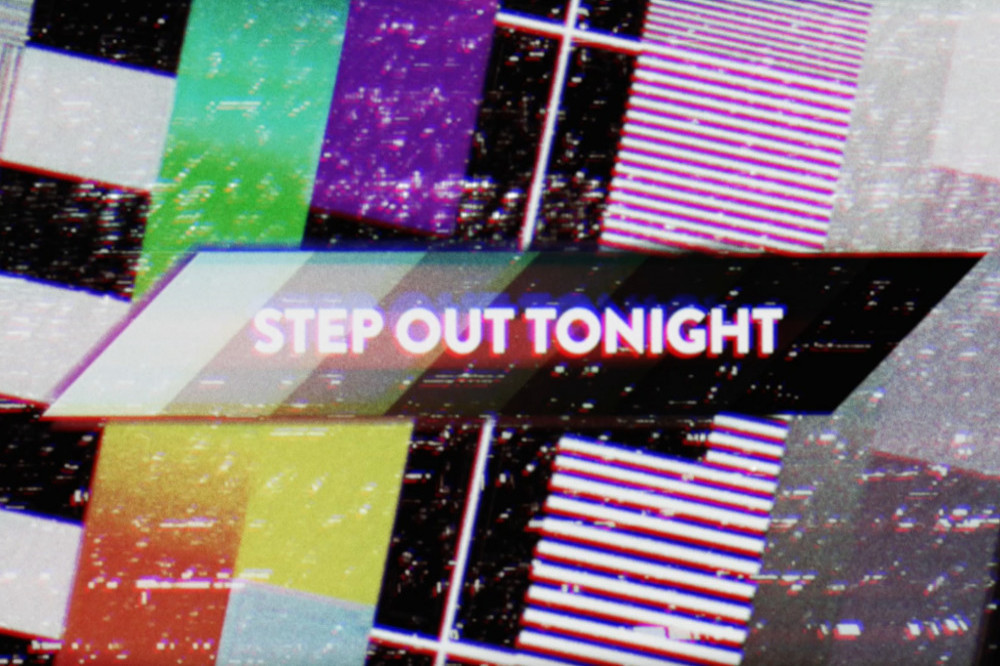 Step Out lyric video