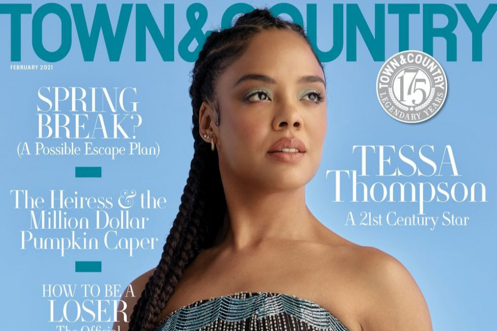Tessa Thompson for Town & Country