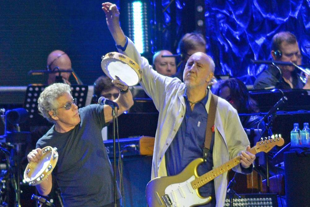 The Who rock Wembley Stadium