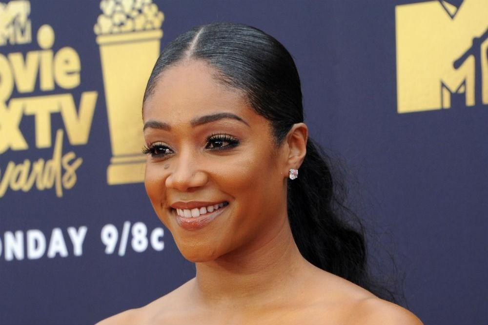 cbe37db0d184 Tiffany Haddish pulled off nine outfit changes at the MTV Movie and ...